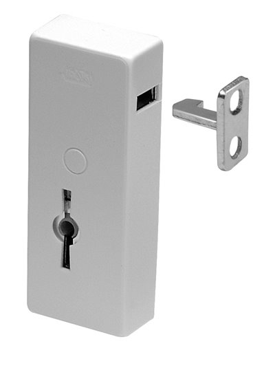 Lever lock for window and terrace doors