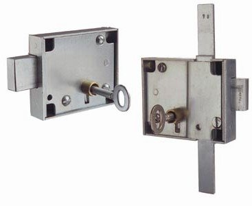 Locks for metal cabinets and small storage units