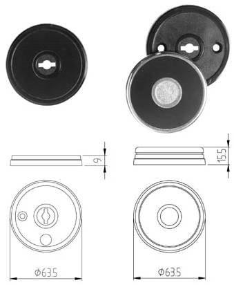 Nyckelskyltar 6580/6490/6890/6980/6990 m.fl.