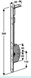 Espagnolette S8552