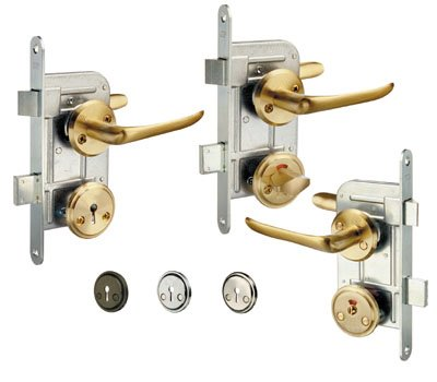 Bathroom and toilet door locks