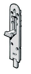 Security flush bolt 1215