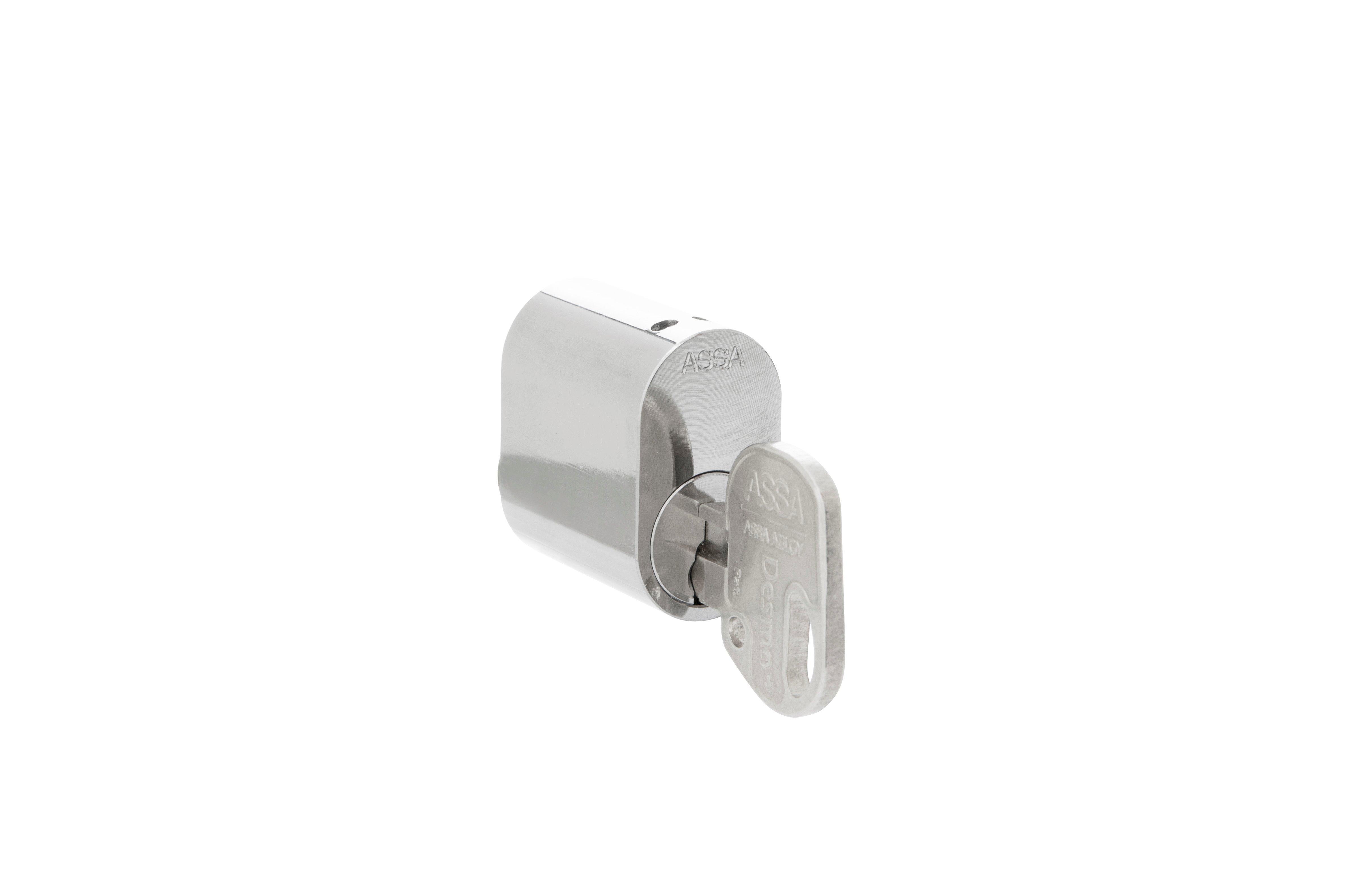Skåplåscylinder Desmo+ 391333 (ovalcylinder)