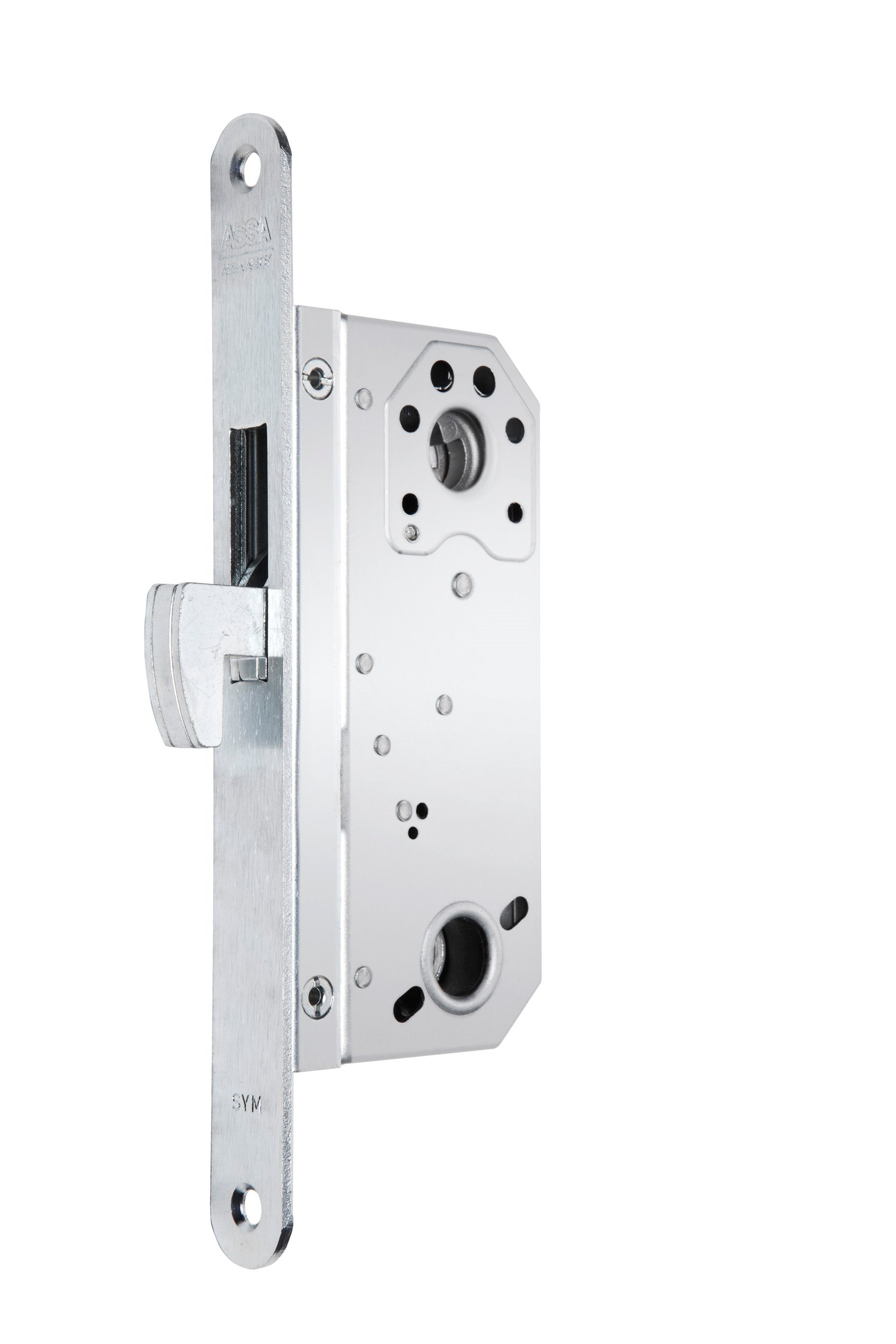 Locks with hook bolt and lever latch