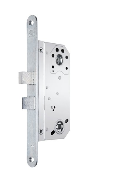 Locks with straight bolt and lever latch
